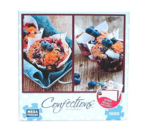 Blueberry Muffins 1000 Piece Puzzle + Stationery Set