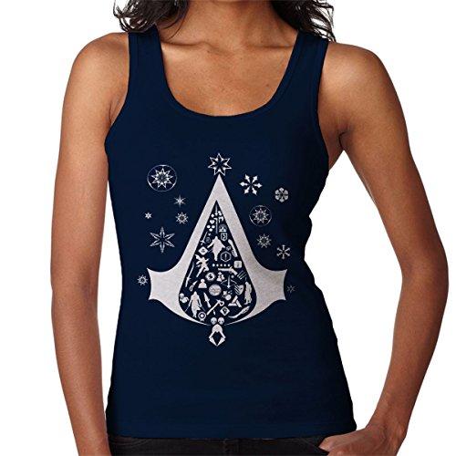 Christmas Tree Assassins Creed Women's Vest