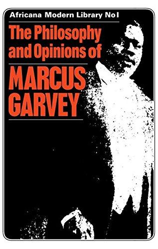 Marcus Garvey, negritud