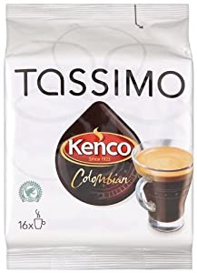 Tassimo Kenco Colombian Coffee (16 T-Disc)