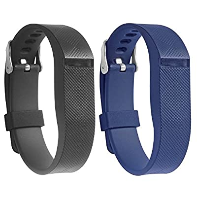 Fitbit Flex Adjustable Wristband By Allrun, Newest Silicone Replacement Secure Band with Chrome Watch Clasp and Fastener Buckle For Fitbit Flex - Fix the Tracker Fall Off Problem