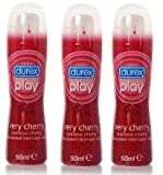 Durex Play Very Cherry Lubricant 50ml-PACK OF 3