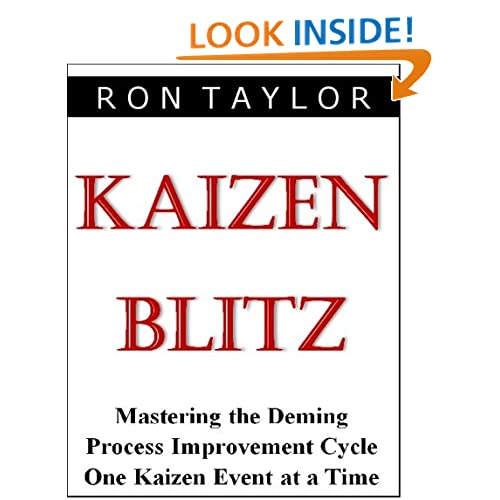 Kaizen event in relations to quick and easy improvements