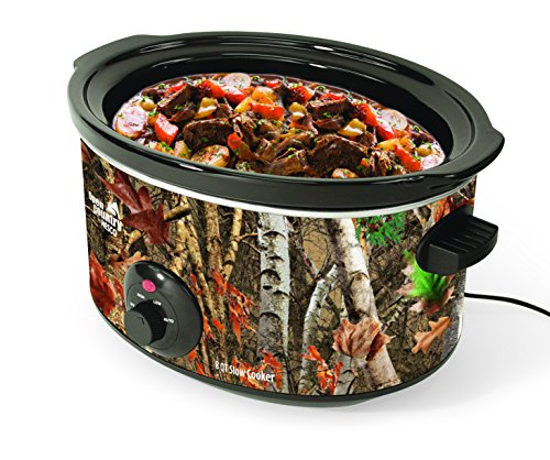 Open Country SC 8017 Slow Cooker 8 quart Woodland Birch