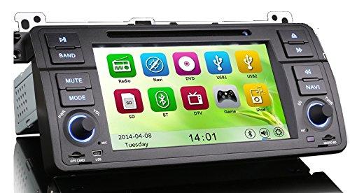 MGNav MG7046B Autoradio BMW E46 Multimedia Navigationssystem (DVD, BT, USB, SD, GPS)