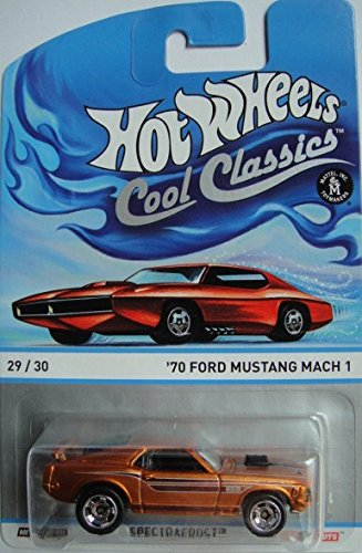 Hot Wheels Cool Classics Series '70 Ford Mustang Mach 1 Die-Cast 29/30