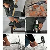 4-in-1-Uferlink-Military-Folding-Trench-Shovel-Tactical-Army-Military-Entrenching-Tool-with-Carrying-Pouch-Compass-Spade-with-Pick-for-Gardening-SurvivalHiking-SnowBackpackingCars-emergency