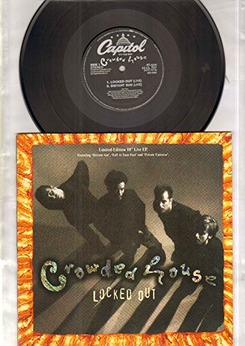 CROWDED HOUSE - LOCKED OUT - 10 inch vinyl (Fall At Your Feet Live compare prices)