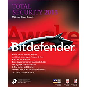 Bitdefender Total Security 2013 Value Edition M2 - 3PCs/2Years