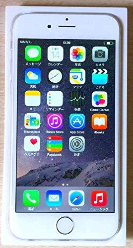 米国版SIMフリー iPhone 6 アップル Apple 4.7インチ NFC対応 (16GB, シルバー Silver)