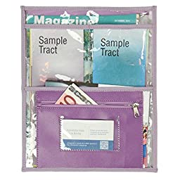Transparent Pouch for invitation work and special campaigns - Lilac