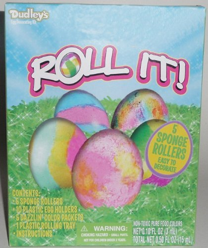Dudleys Roll It! Easter Egg Coloring and Decorating Kit