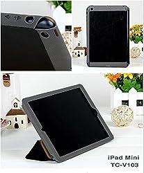 99 Digitals Premium Leather Cover Case For Apple iPad Mini[BLACK]