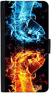 Snoogg Hand Cool L Designer Protective Phone Flip Back Case Cover For Lenovo Vibe K4 Note