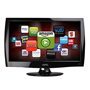 VIZIO M221NV 22-Inch Full HD 1080p LED LCD TV with VIA Internet Applications, Black (2010 Model)