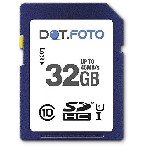 dotfoto-32-go-carte-memoire-sdhc-classe-10-uhs-1-45mo-sec-pour-canon-powershot-d10-d20-d30-g12-g15-g