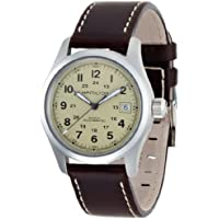 Hamilton Khaki Field Beige Dial Automatic Mens Watch (H70455523)