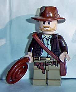 LEGO Indiana Jones: Indiana Jones Minifigure with Whip and Satchel