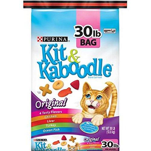 New Purina Kit & Kaboodle Original Dry Cat Food, 30 Lbs
