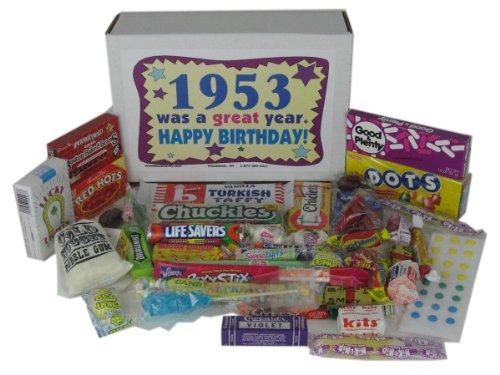 50's Retro Candy Decade Birthday Gift Box Jr. - Nostalgic Candy: 1953