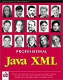 img - for Professional Java XML book / textbook / text book
