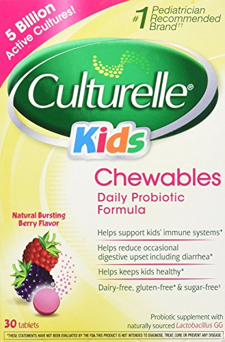 Culturelle-Kids-Chewables-Probiotic-For-Kids-50-100lbs-Tablets-Berry-30-ea-Pack-of-2