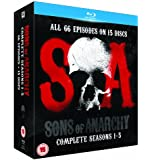 Sons of Anarchy - Season 1-5 [Blu-ray] [2013]