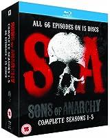 Sons of Anarchy - Season 1-5 [Blu-ray] [2013]