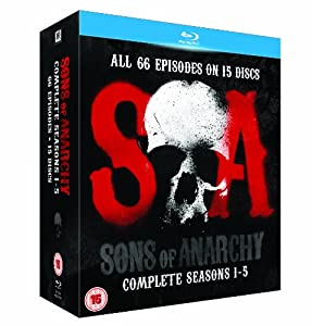 Sons of Anarchy - Season 1-5 [Blu-ray] [Region A/B] [2013]