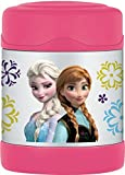 Thermos Funtainer Food Jar, 10-Ounce, Frozen Pink