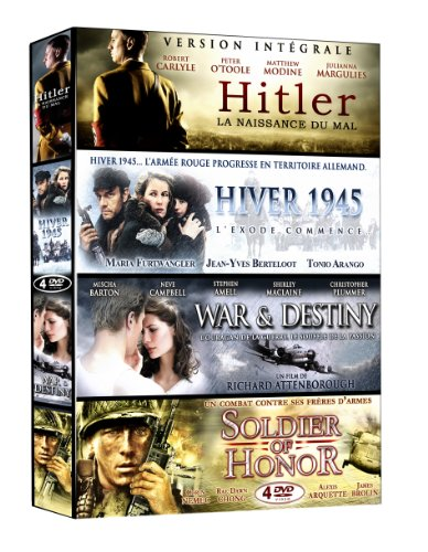 Collection Guerre 2 : Hitler / Hiver 1945 / War And Destiny / Soldier Of Honor [Edizione: Francia]
