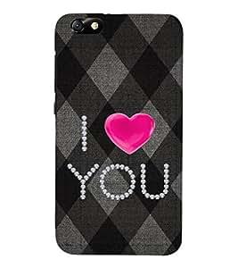 EPICCASE love blocks Mobile Back Case Cover For Huawei Honor 4X (Designer Case)