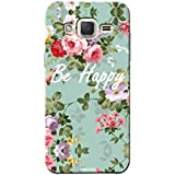Tecozo Designer Printed Back Cover For Samsung J2, Samsung J2 Back Cover, Hard Case For Samsung J2, Case Cover For Samsung J2, (Be Happy Design, Animals & Nature)