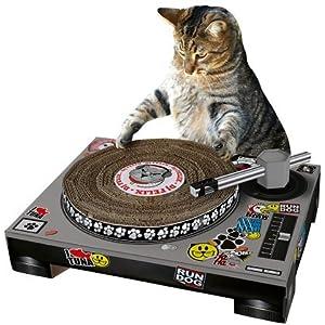 Cat DJ Scratching Deck (Quantity of 1)