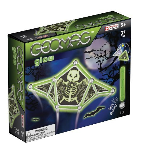 Geomag Scary Glow in The Dark Set (37 Pieces) by Flair