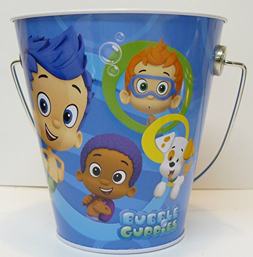 "Bubble Guppies Party Favor Tin Pails (4.3"" x 4.5"")"