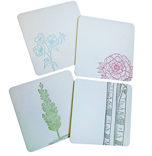 flowers-and-trees-coasters-letterpress-on-thick-cotton-paper