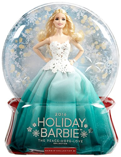 Barbie 2016 Holiday Doll JungleDealsBlog.com