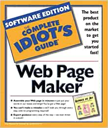 the complete idiots guide to web page maker macmillan