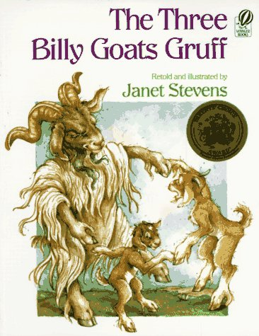 The Three Billy Goats Gruff, Janet Stevens