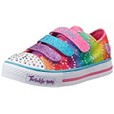 Skechers Kids Shuffles-Rainbow Madness Light-Up Sneaker (Little Kid), Multi, 12.5 M US Little Kid