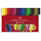 Faber-Castell Wallet of 20 Clip Coloursby Faber-Castell