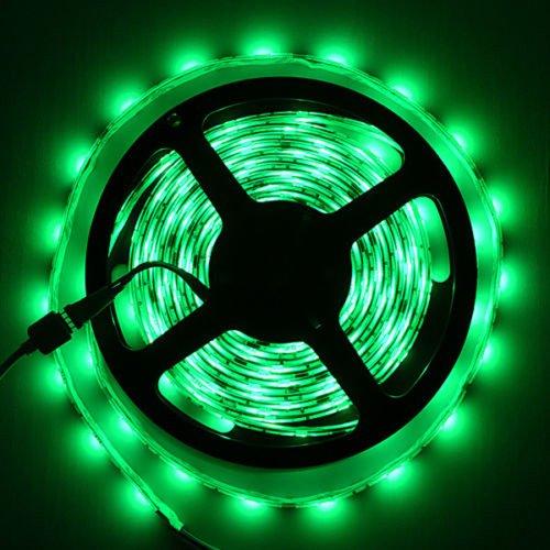 Green Led Strip Light Non-Waterproof Led Flexible Light Strip 12V With 60 Leds/M Smd 3528 Led 30M