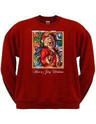 Jerry Garcia Christmas Sweatshirt Small
