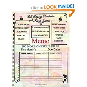 Bill Paying Reminder and Filing System Benjamin Jackson