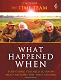 The Time Team Guide to What Happened When (1905026099) by Taylor, Tim