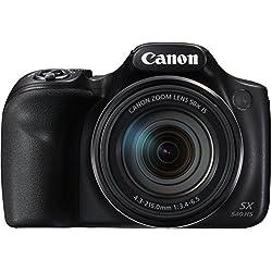 Canon PowerShot SX540 HS Bridgekamera mit Zoom schwarz