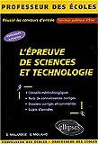 echange, troc Didier Malafosse, Gabriel Mouahid - L'épreuve de Sciences et Technologie