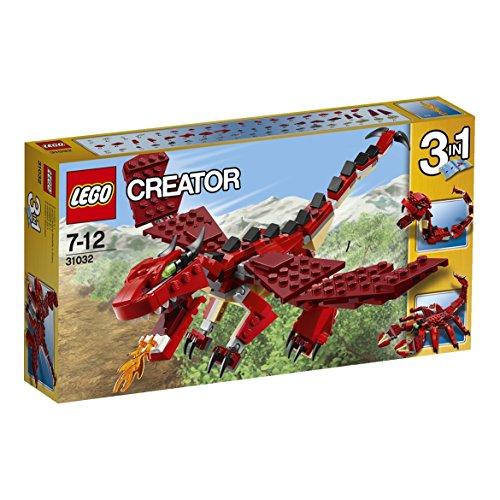 レゴ クリエイター ファイヤードラゴン 31032
