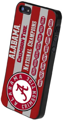 Great Price Forever Collectibles NCAA Alabama Crimson Tide Commemorative Hard Apple iPhone 5 / 5S Case